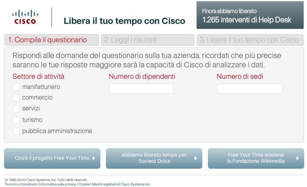 Libera il tuo tempo con Cisco