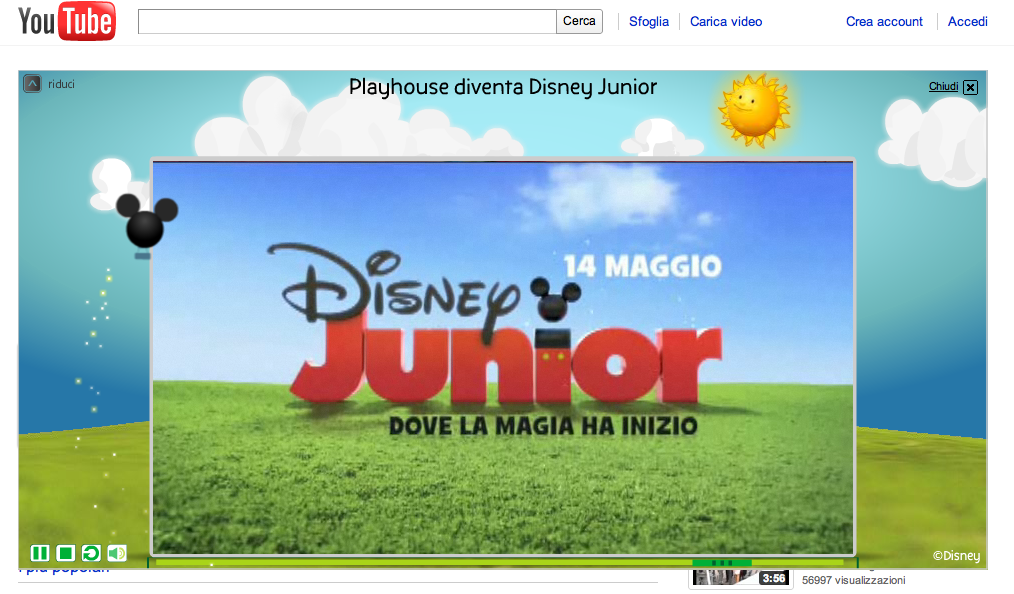 masthead youtube disney junior expanded