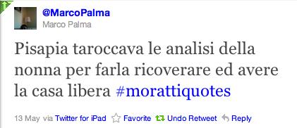 twit #morattiquotes