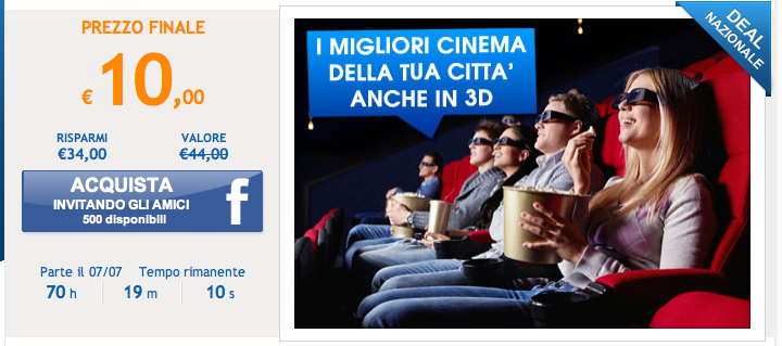 Offerta cinema Jumpin
