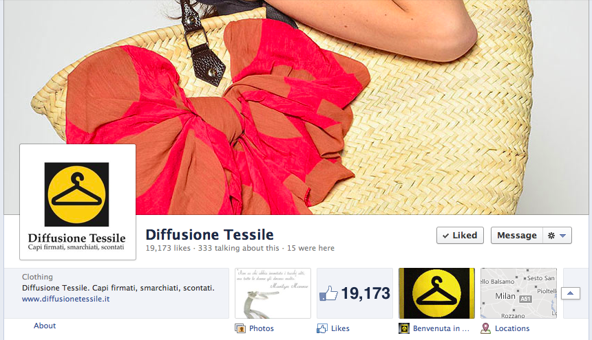 Diffusione Tessile on Facebook
