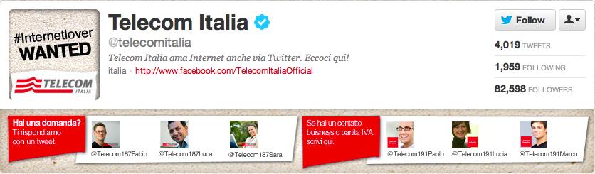 Telecom Italia Twitter Team