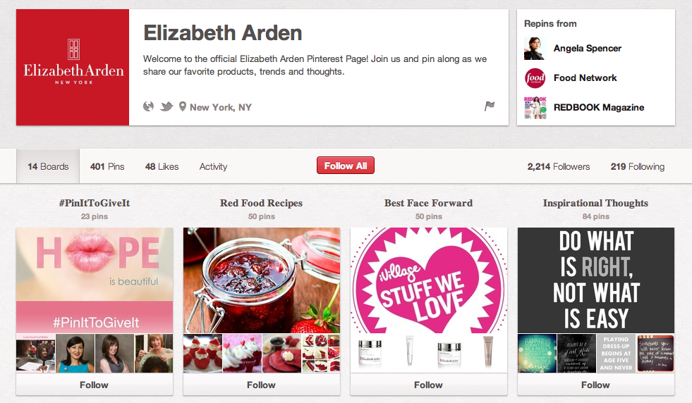 Elizabeth Arden on Pinterest