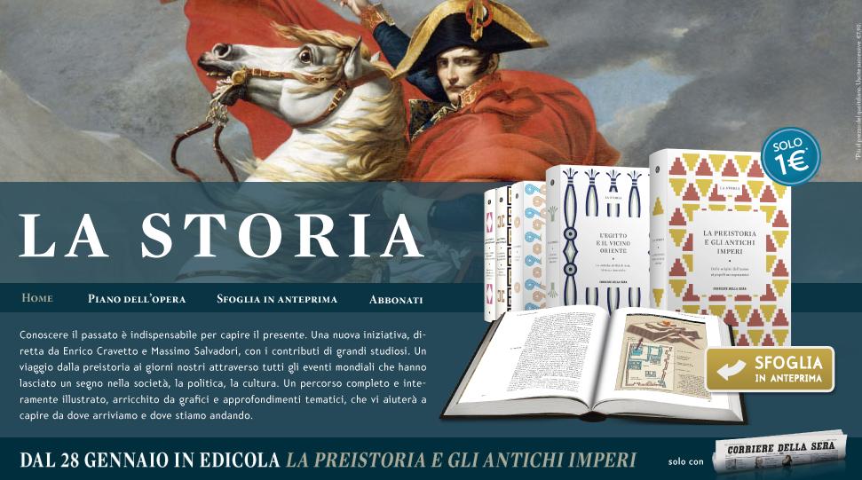 Corriere della Sera presenta La Storia