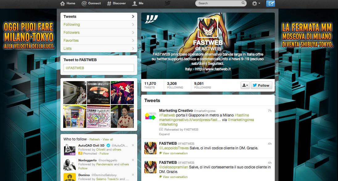 Twitter Fastweb