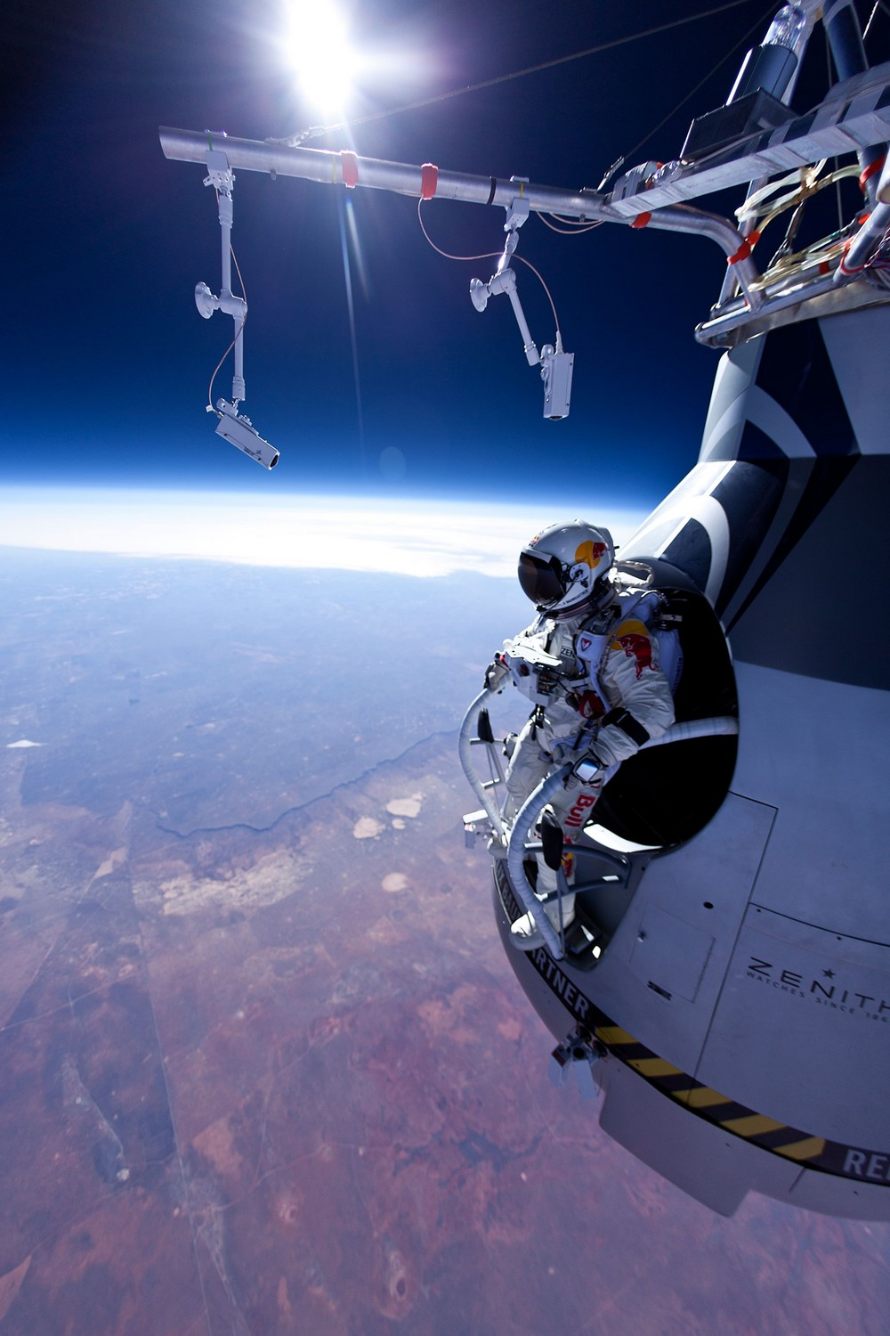 Felix Baumgartner launch