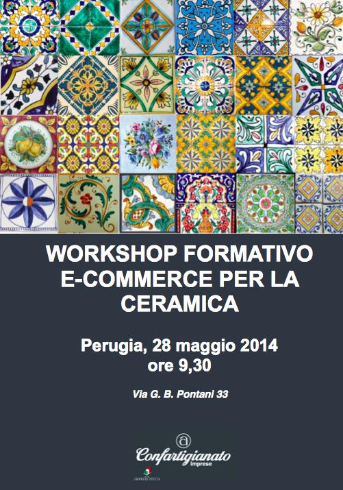 Workshop formativo e-commerce per la ceramica. Confartigianato Perugia