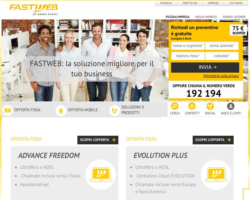 Fastweb Soluzione Impresa