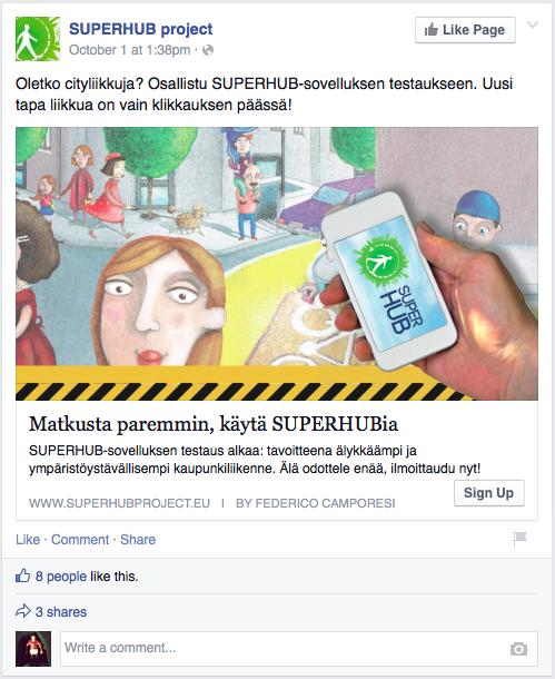 Superhub Project Helsinki