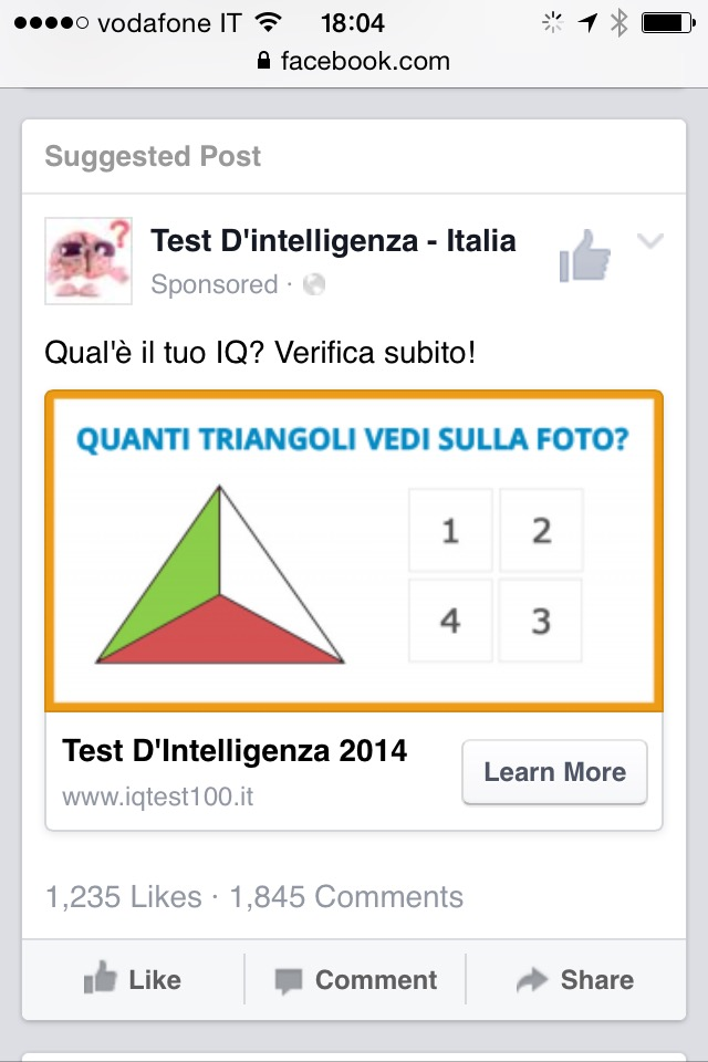 Triangoli ignoranti