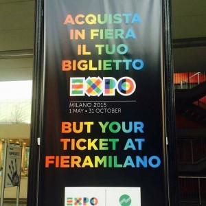 Special edition affissione: BUT your Expo Milano ticket