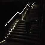 Tag Milano Calabiana - scala interna (di notte)