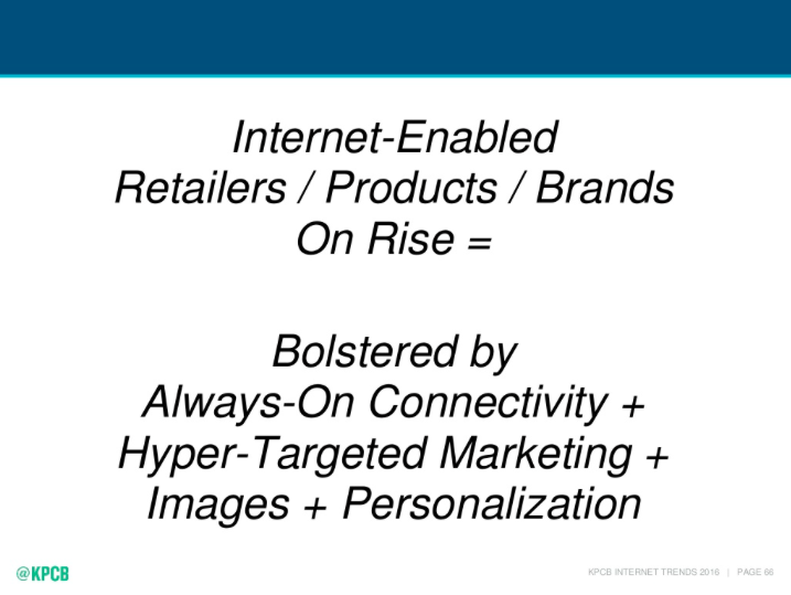 internet enabled retailers
