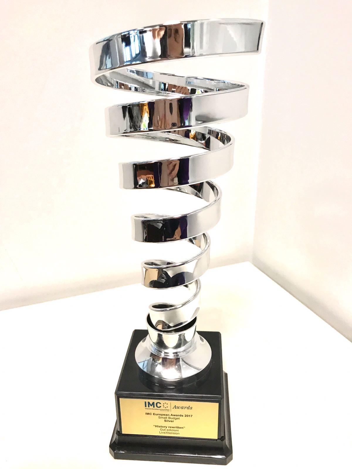 IMC Awards 2017 - Silver - Gut Edizioni Smemoranda LiveXtension
