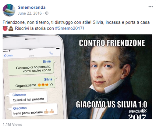 Giacomo VS Silvia - LiveXtension per Smemoranda