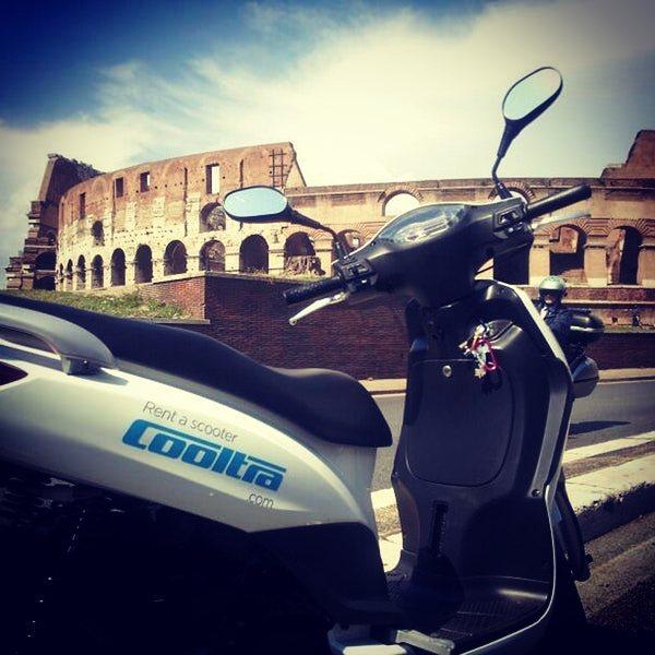 Cooltra noleggio scooter Roma